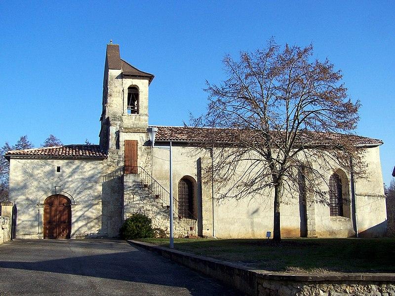 Photo du Monument Historique Eglise Saint-Pierre aux Liens situé à Pujols-sur-Ciron