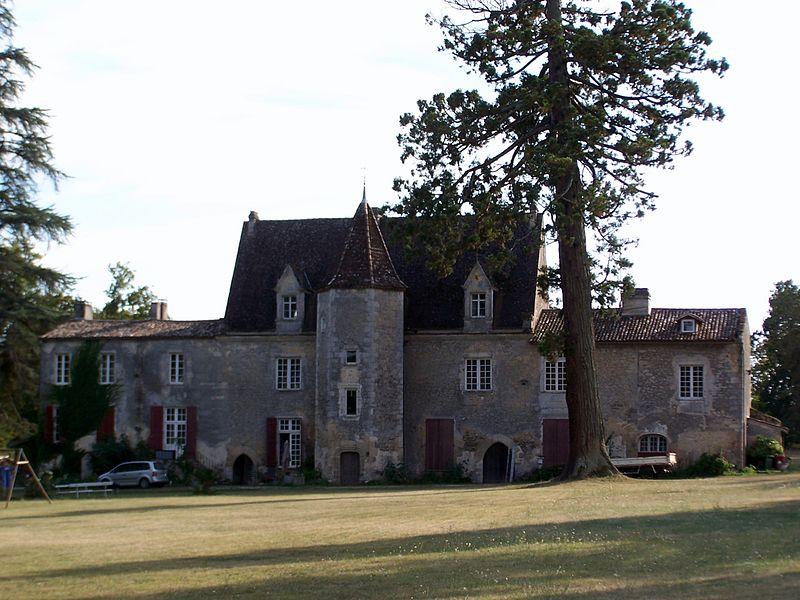 Photo du Monument Historique Château de La Salle situé à Pujols-sur-Ciron