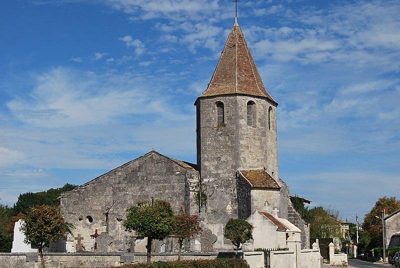 Photo du Monument Historique Eglise Saint-Hilaire situé à Puynormand