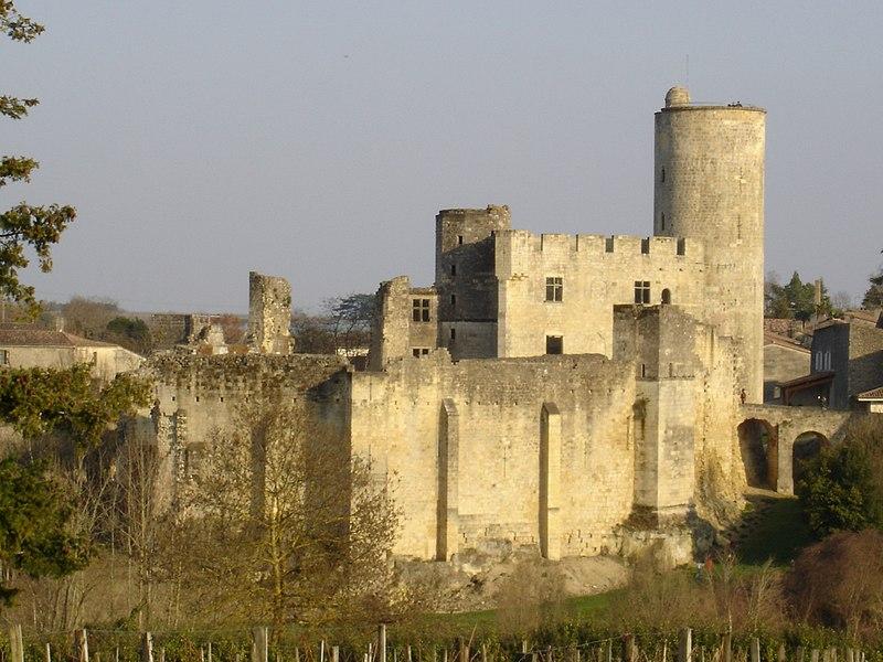 Photo du Monument Historique Château de Rauzan situé à Rauzan