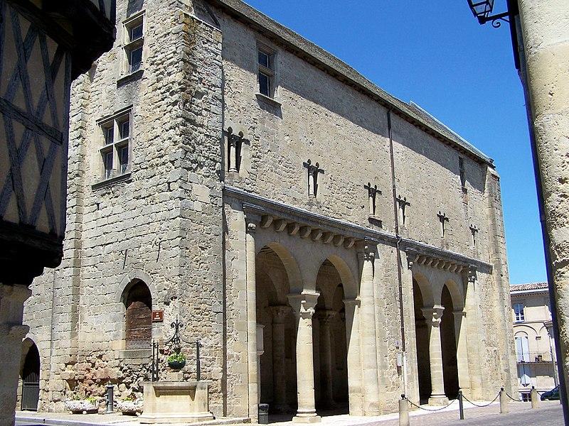Photo du Monument Historique Ancien Hôtel de ville situé à La Réole