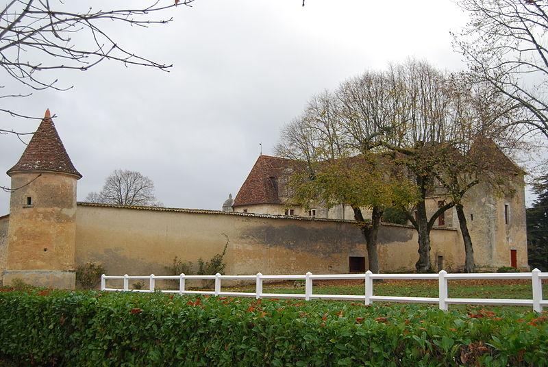 Photo du Monument Historique Château du Grand Verdus situé à Sadirac
