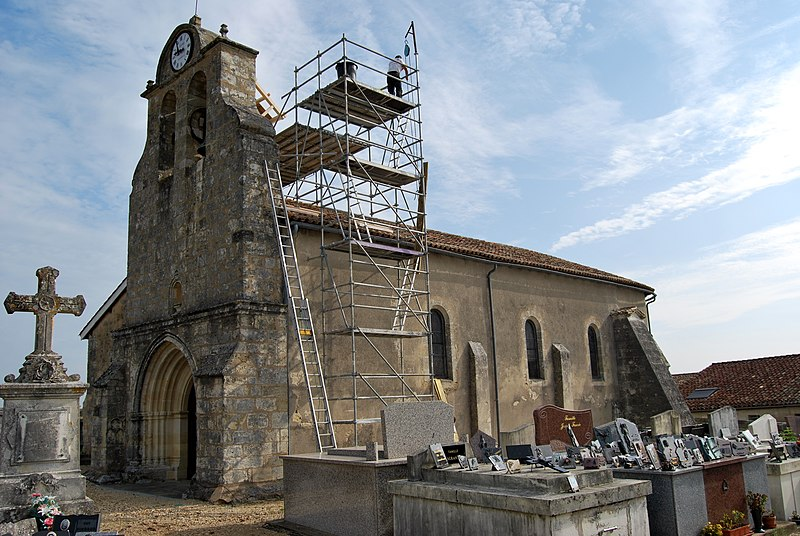 Photo du Monument Historique Eglise Saint-Seurin situé à Saillans