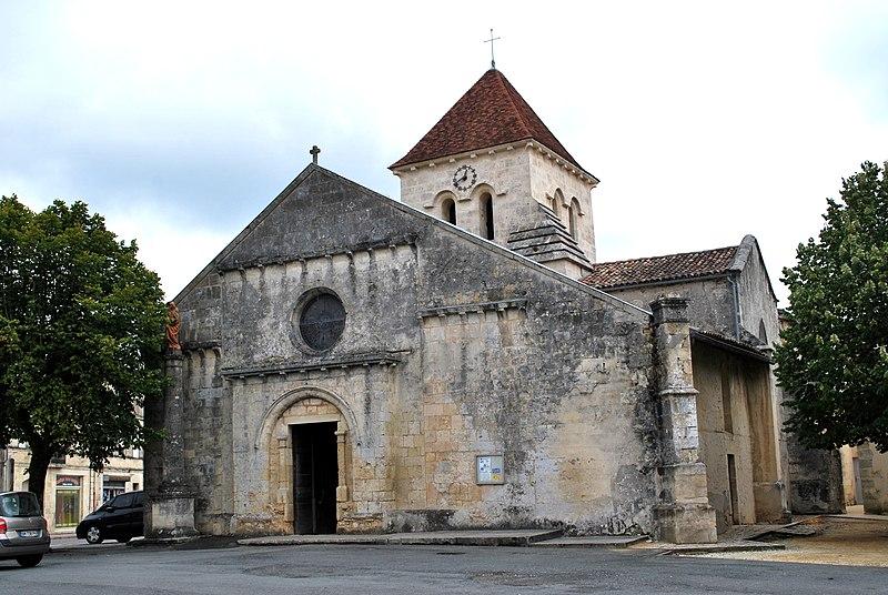 Photo du Monument Historique Eglise Saint-Christoly situé à Saint-Christoly-de-Blaye