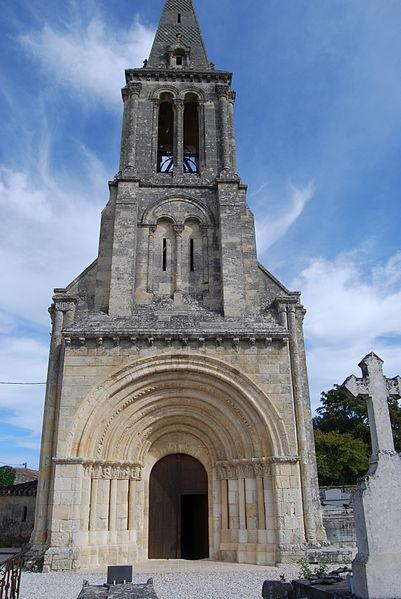 Photo du Monument Historique Eglise Saint-Christophe situé à Saint-Christophe-des-Bardes