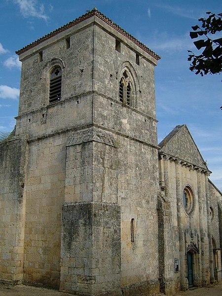 Photo du Monument Historique Eglise situé à Saint-Ciers-de-Canesse