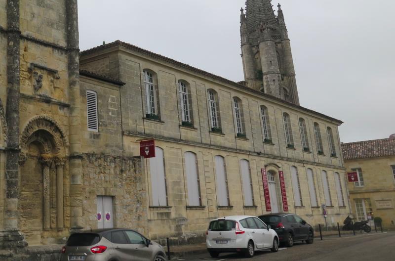Photo du Monument Historique Ancien Doyenné situé à Saint-Emilion