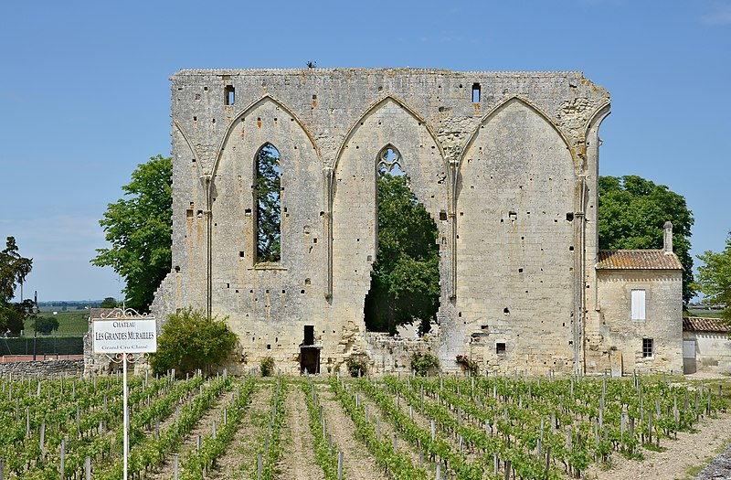 Photo du Monument Historique Ancienne église du couvent des Dominicains, dit des Jacobins situé à Saint-Emilion