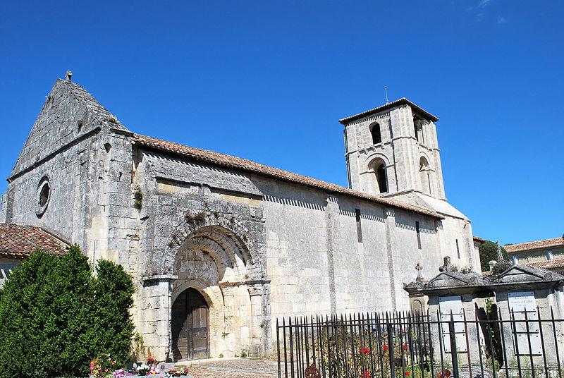 Photo du Monument Historique Ancienne église Saint-Martin de Mazerat situé à Saint-Emilion