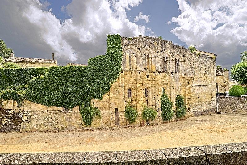Photo du Monument Historique Ancien Palais des Archevêques ou Palais Cardinal situé à Saint-Emilion