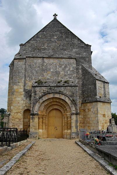 Photo du Monument Historique Eglise Saint-Etienne situé à Saint-Etienne-de-Lisse