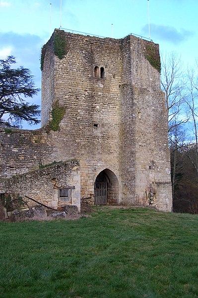 Photo du Monument Historique Château de Pommiers situé à Saint-Félix-de-Foncaude
