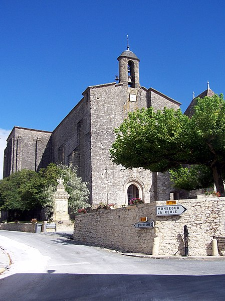 Photo du Monument Historique Ancienne église des Bénédictins situé à Saint-Ferme