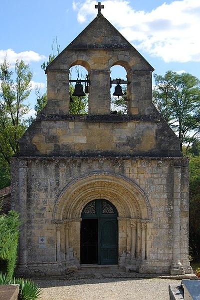 Photo du Monument Historique Eglise Notre-Dame de Tout Espoir situé à Saint-Genès-de-Lombaud