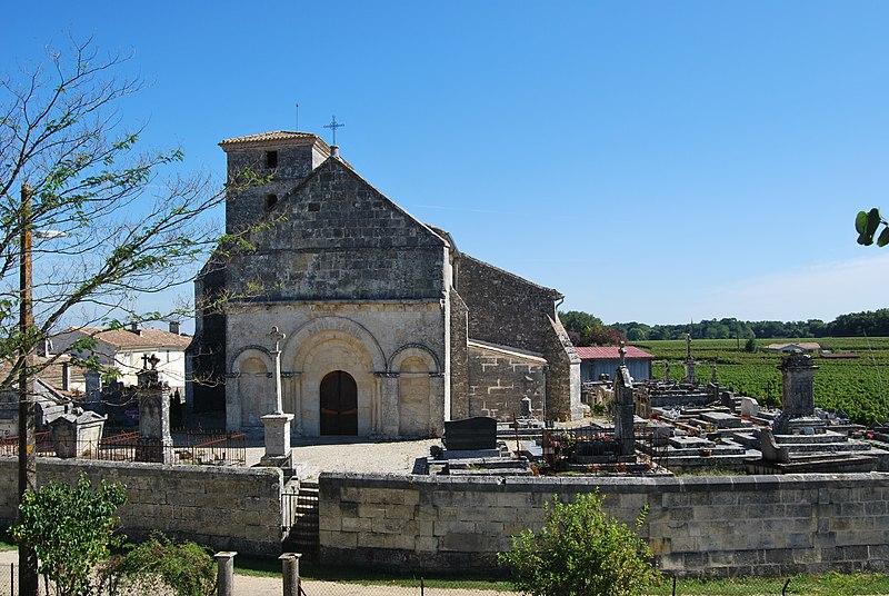 Photo du Monument Historique Eglise situé à Saint-Genès-de-Fronsac