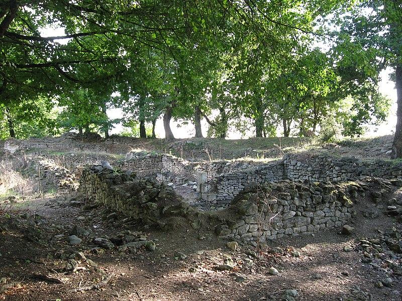 Photo du Monument Historique Portions des vestiges du théâtre gallo-romain de Brion situé à Saint-Germain-d'Esteuil