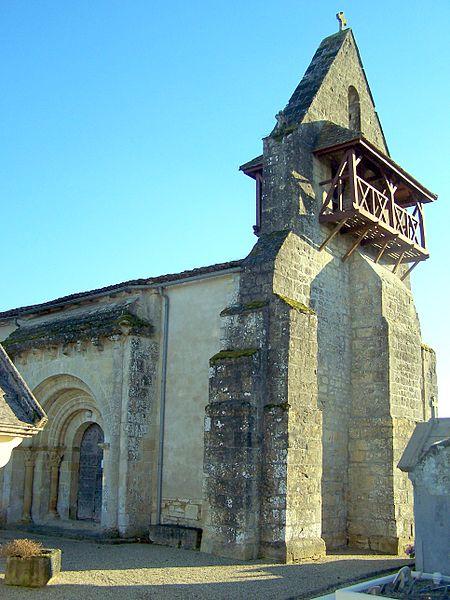 Photo du Monument Historique Eglise situé à Saint-Hilaire-de-la-Noaille