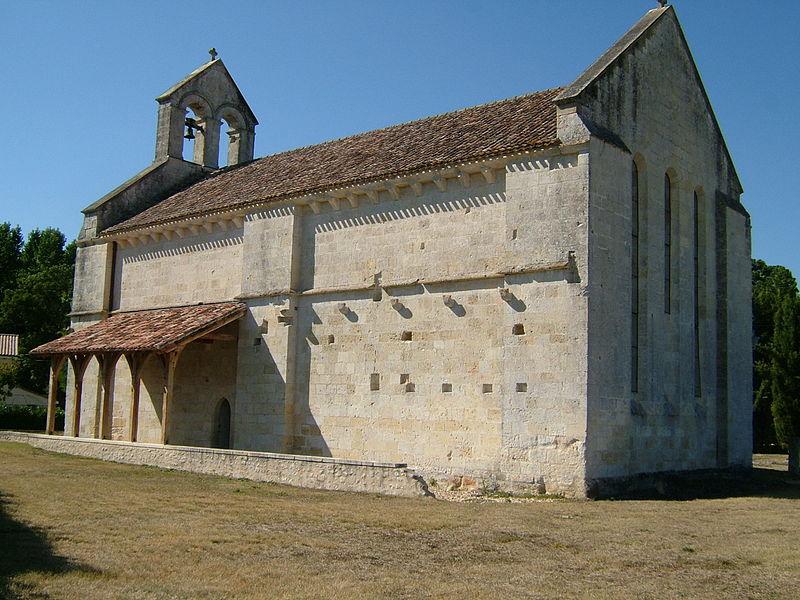 Photo du Monument Historique Eglise de Magrigne ou Chapelle Sainte-Quitterie situé à Saint-Laurent-d'Arce