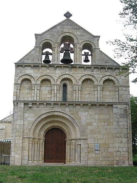 Photo du Monument Historique Eglise Notre-Dame de Benon situé à Saint-Laurent-Médoc