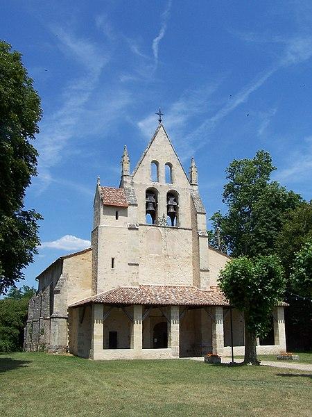 Photo du Monument Historique Eglise Saint-Léger situé à Saint-Léger-de-Balson