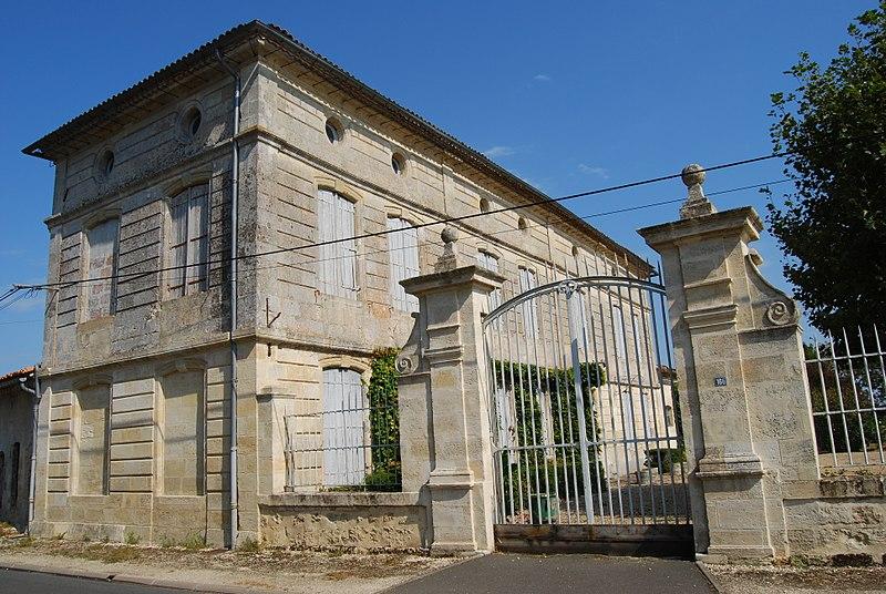 Photo du Monument Historique Immeuble dit Margarance situé à Saint-Louis-de-Montferrand