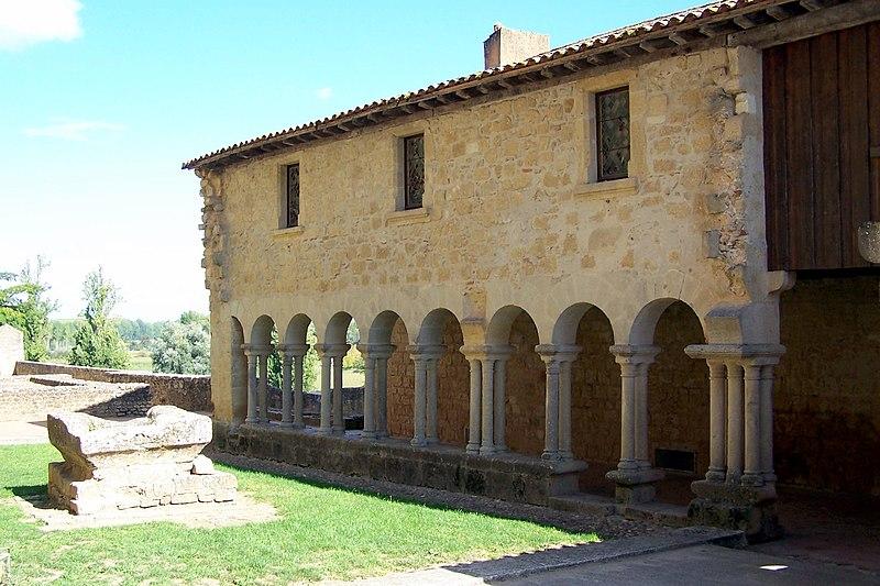 Photo du Monument Historique Ancien cloître situé à Saint-Macaire