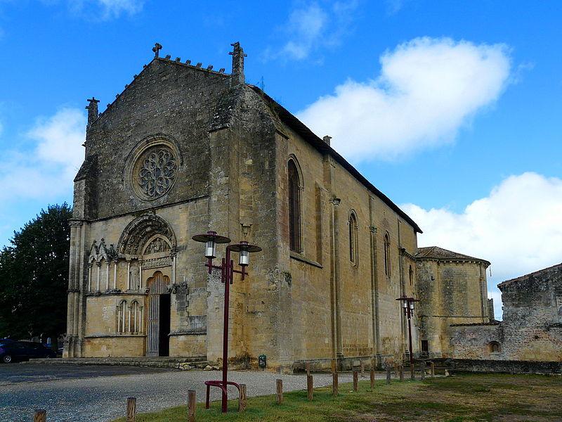 Photo du Monument Historique Eglise Saint-Sauveur-et-Saint-Martin situé à Saint-Macaire