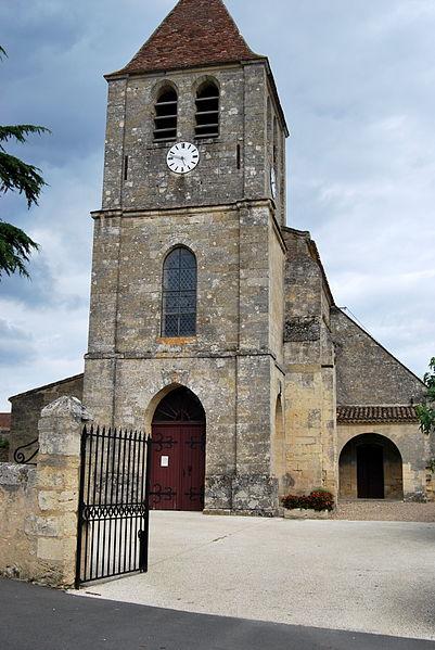 Photo du Monument Historique Eglise situé à Saint-Magne-de-Castillon