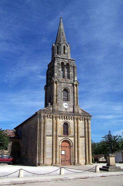 Photo du Monument Historique Eglise Saint-Maixant situé à Saint-Maixant