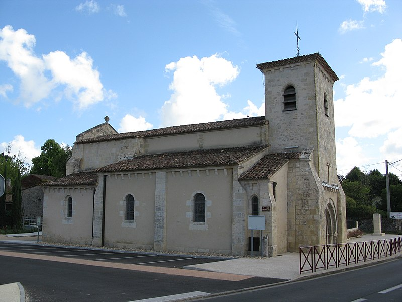 Photo du Monument Historique Eglise situé à Saint-Martin-Lacaussade