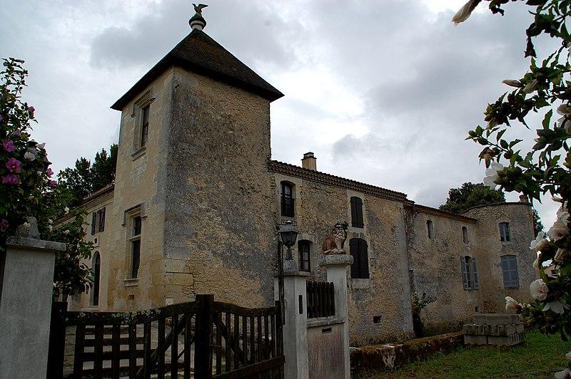 Photo du Monument Historique Château de Gajac situé à Saint-Médard-en-Jalles