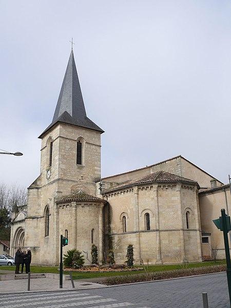 Photo du Monument Historique Eglise situé à Saint-Médard-en-Jalles