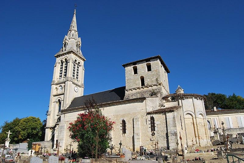 Photo du Monument Historique Eglise situé à Saint-Michel-de-Fronsac