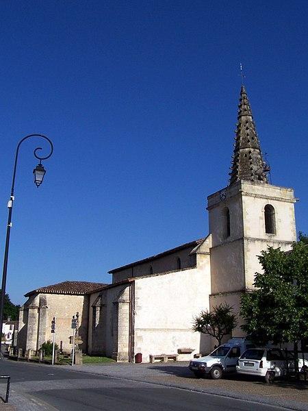 Photo du Monument Historique Eglise situé à Saint-Michel-de-Rieufret