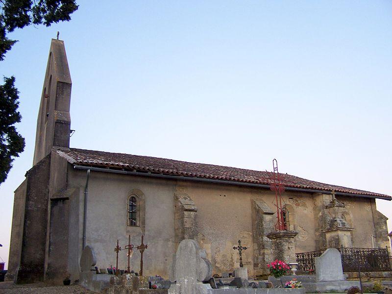 Photo du Monument Historique Eglise situé à Saint-Michel-de-Lapujade