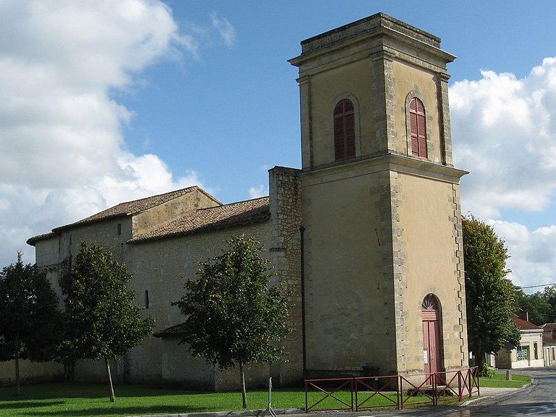 Photo du Monument Historique Eglise Saint-Sauveur situé à Saint-Sauveur