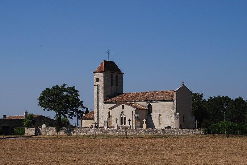 Photo du Monument Historique Eglise Saint-Jean-Baptiste de Cameyrac situé à Saint-Sulpice-et-Cameyrac