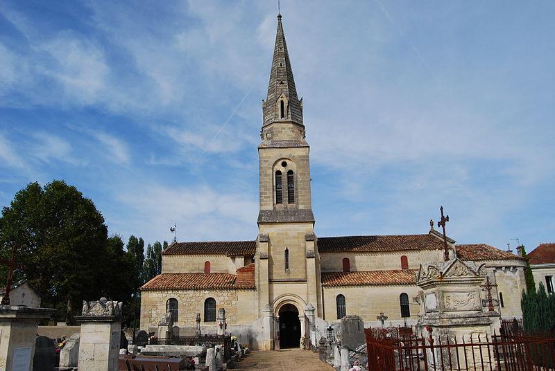 Photo du Monument Historique Eglise Saint-Sulpice situé à Saint-Sulpice-de-Faleyrens