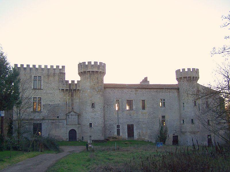 Photo du Monument Historique Château de Guilleragues situé à Saint-Sulpice-de-Guilleragues