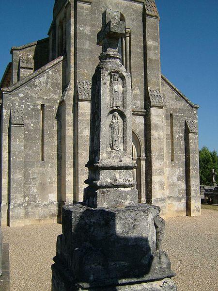 Photo du Monument Historique Croix de cimetière situé à Saint-Vivien-de-Blaye