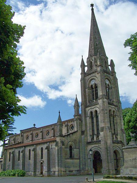 Photo du Monument Historique Eglise Sainte-Croix situé à Sainte-Croix-du-Mont