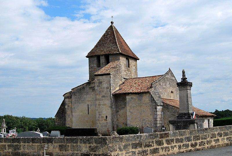 Photo du Monument Historique Eglise situé à Les Salles