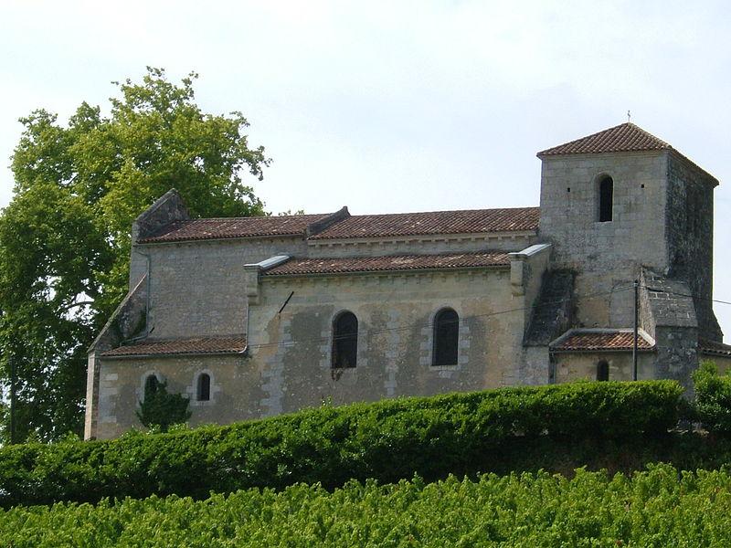 Photo du Monument Historique Eglise Saint-Martin situé à Samonac