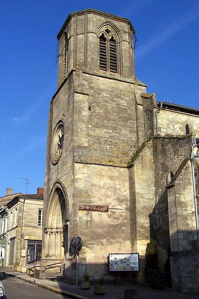 Photo du Monument Historique Eglise Notre-Dame situé à Sauveterre-de-Guyenne