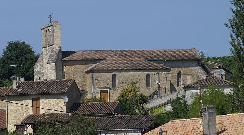 Photo du Monument Historique Eglise Saint-Genès situé à Soulignac