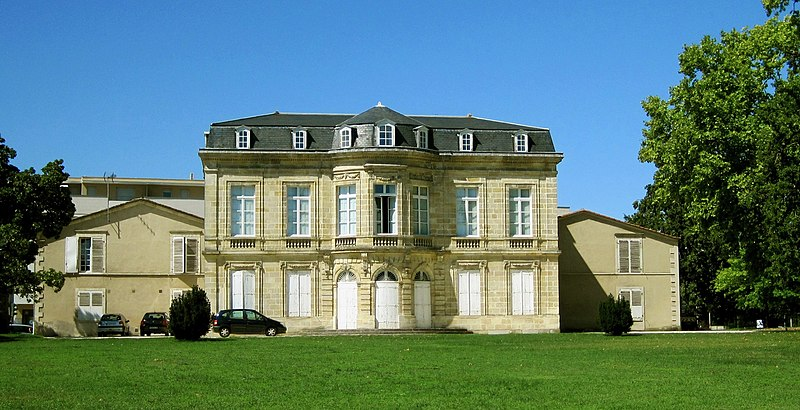 Photo du Monument Historique Château Margaut situé à Talence