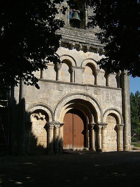 Photo du Monument Historique Eglise Saint-Etienne situé à Tauriac