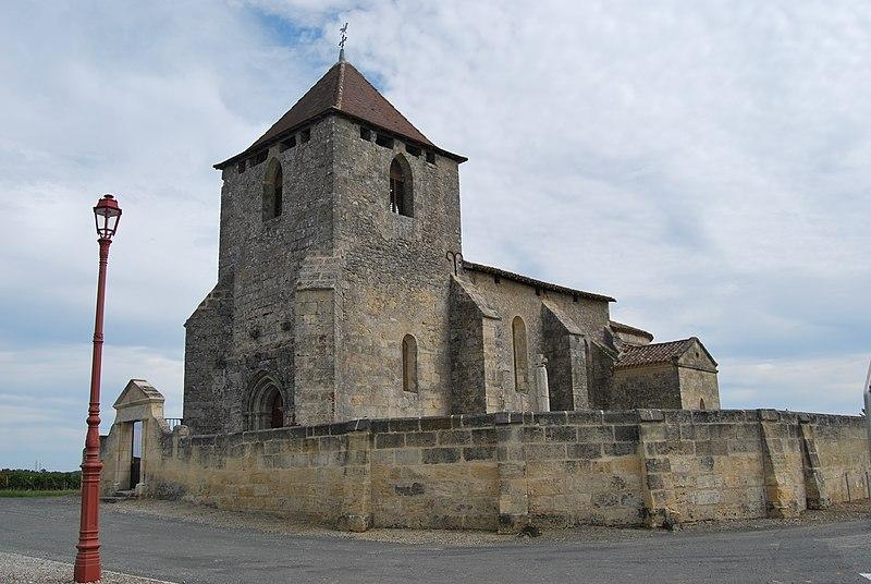 Photo du Monument Historique Eglise Notre-Dame situé à Tayac