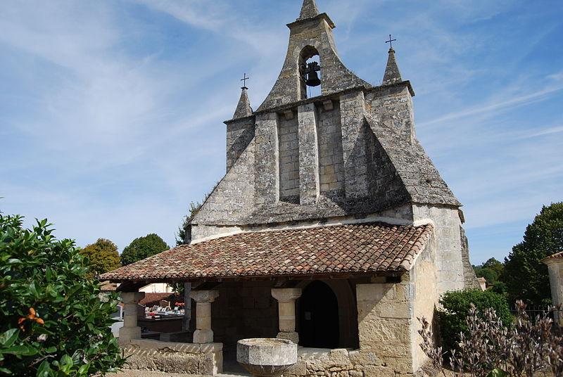 Photo du Monument Historique Eglise Notre-Dame situé à Tizac-de-Curton