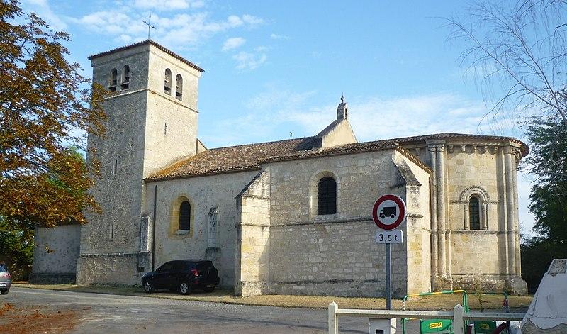 Photo du Monument Historique Eglise Saint-Martin situé à Villenave-d'Ornon
